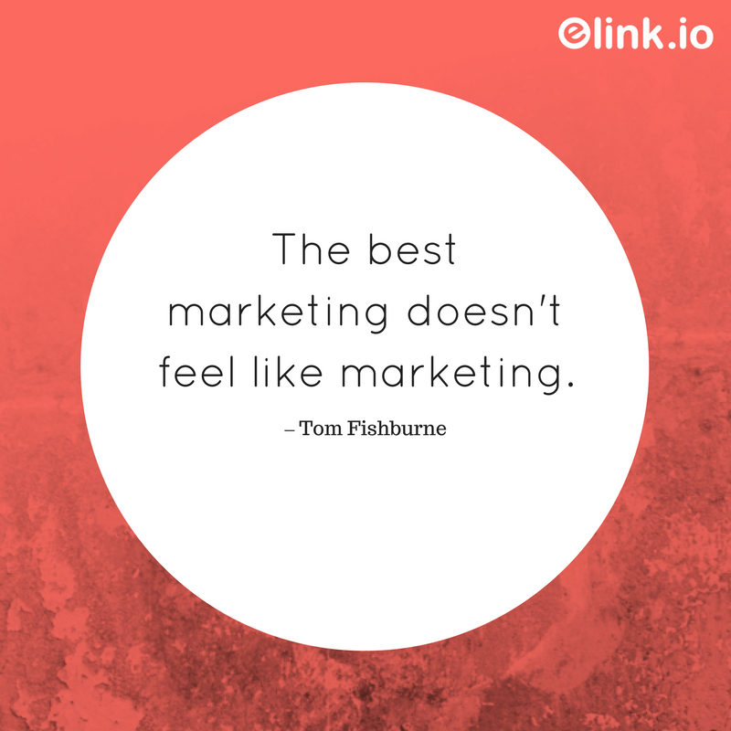 Famous quotes on marketing by Tom Fishburne