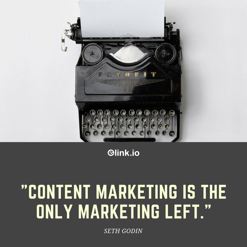 Content marketing quotes by Seth Godin
