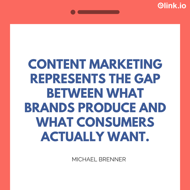Marketing quote by Michael Brenner