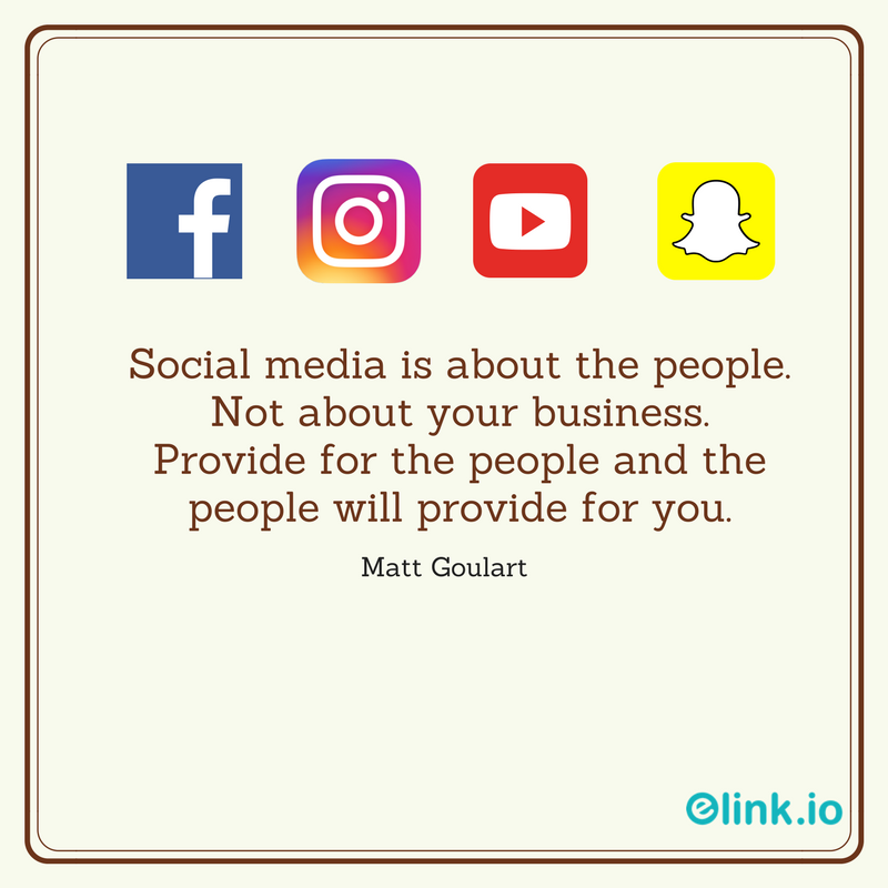 Marketing quote by Matt Goulart