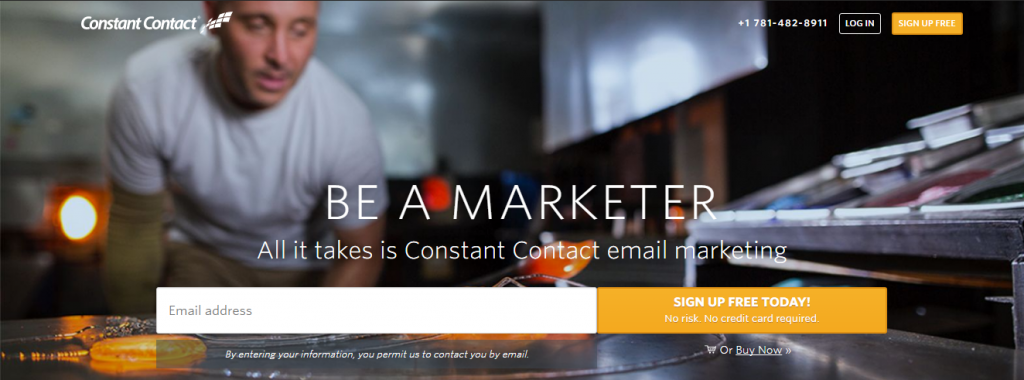 Constant Contact email service provider as an alternative to mailchimp