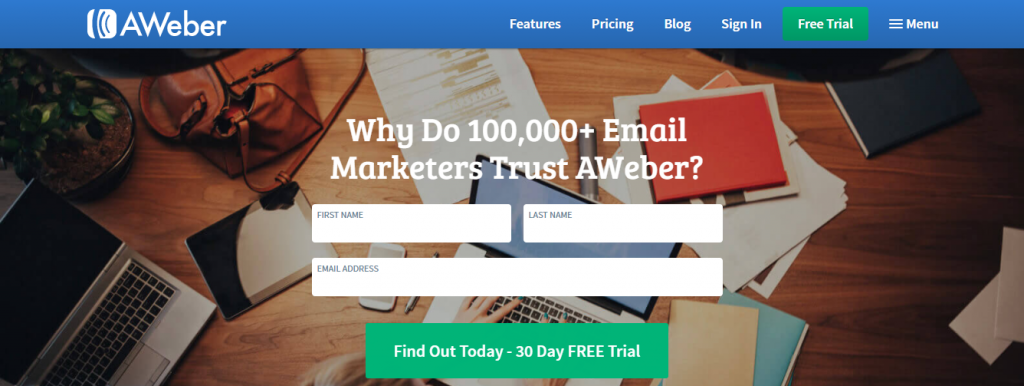 Aweber: Email Newsletter Creation software