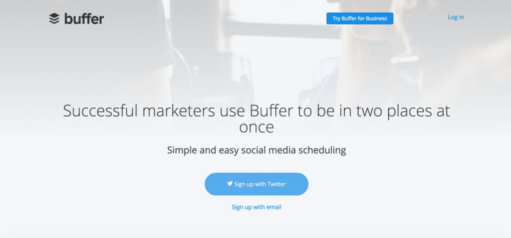 Buffer - A social media tool