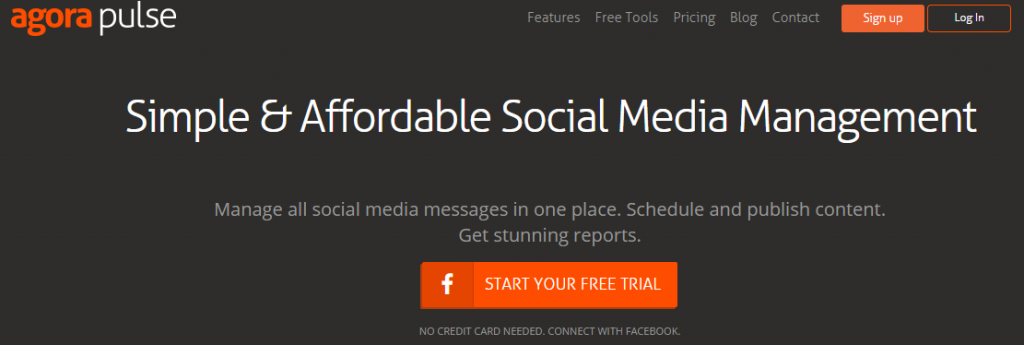 Agorapulse for social media management