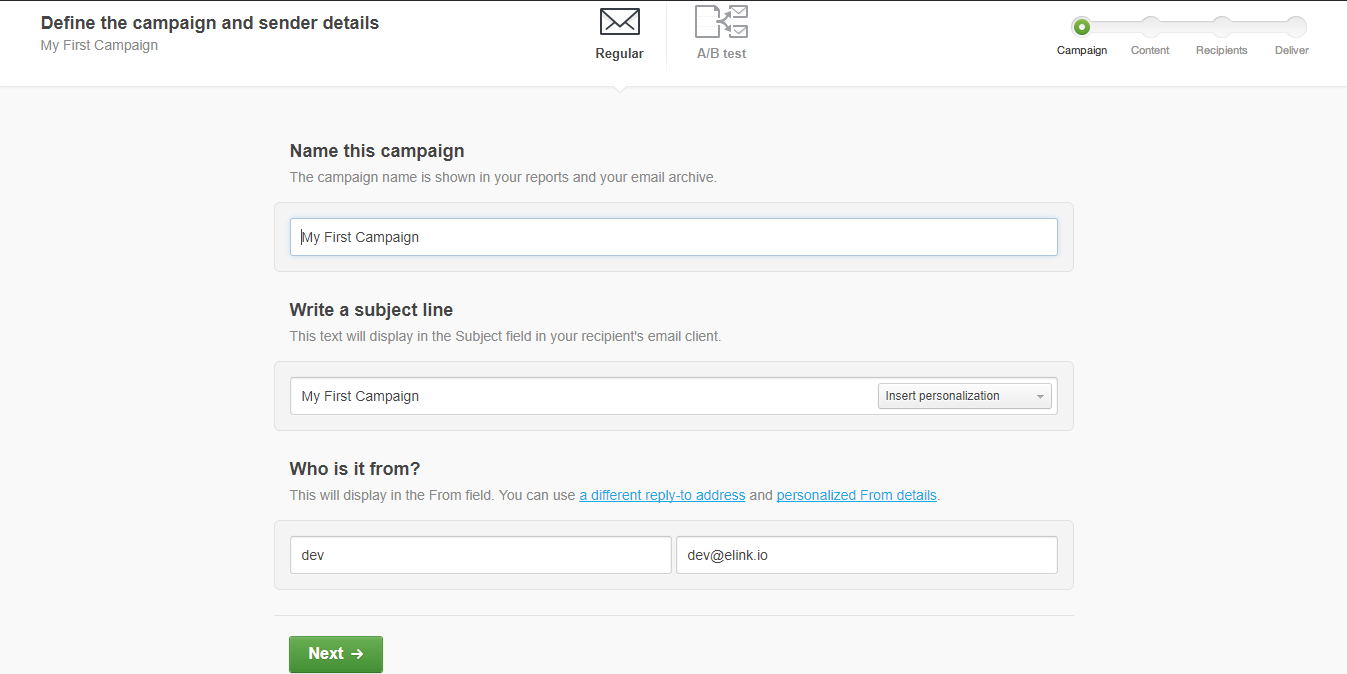 How to Send Newsletter with Campaign Monitor in 5 minutes