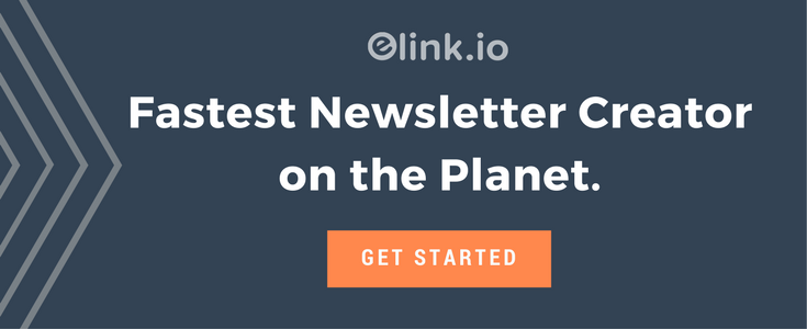 Fastest newsletter creator on the planet - elink.io