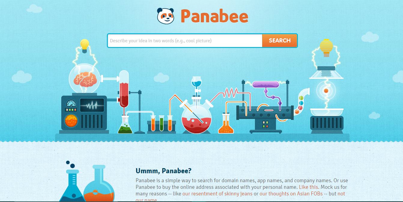 Panabee; Blog name generator