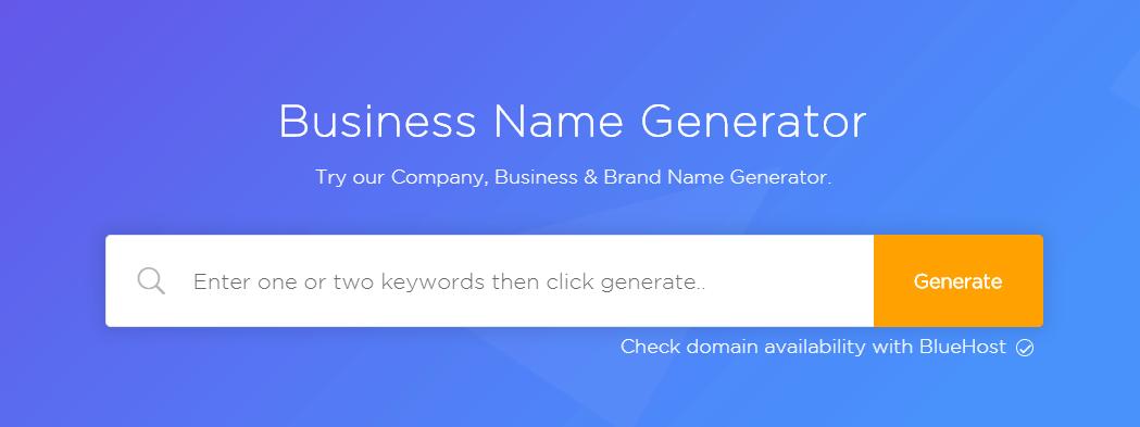 BNG blog name generator