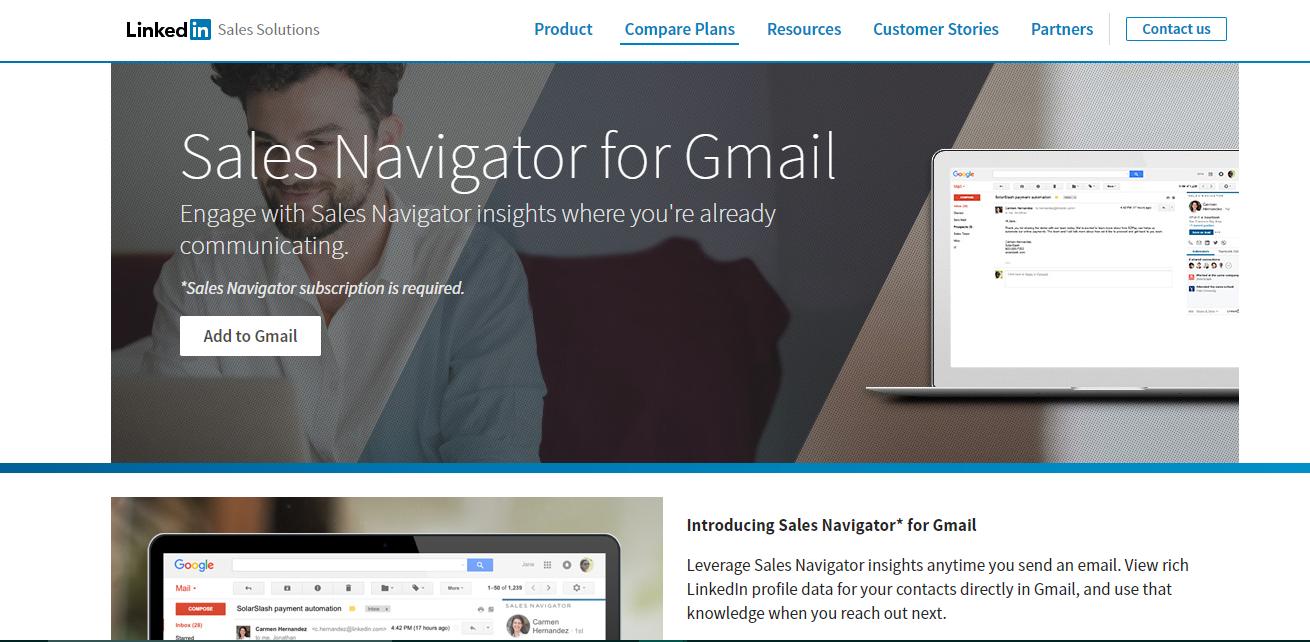 Rapportive : A gmail plugin
