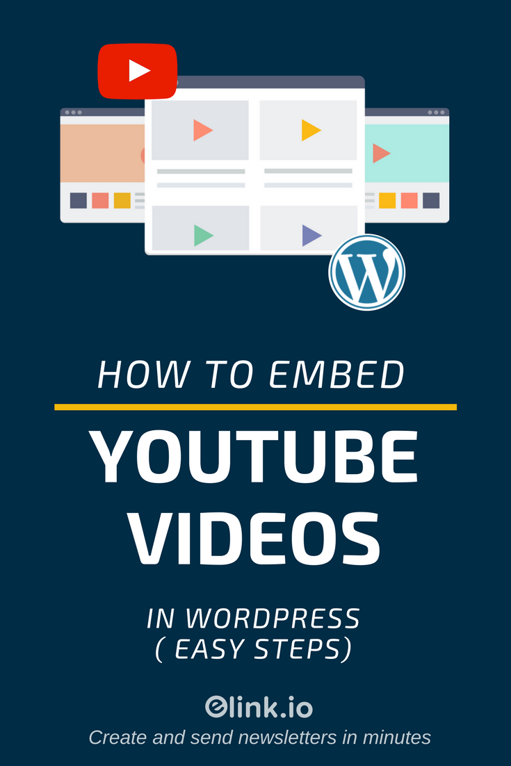 How To Embed Youtube videos (PIN)