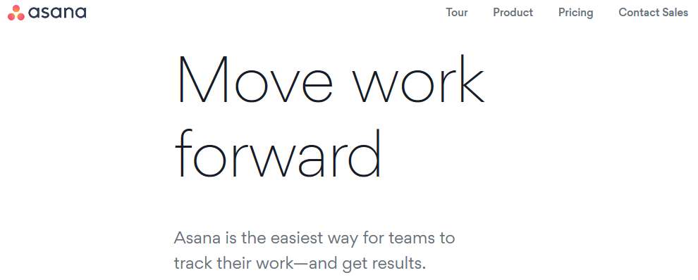 Asana for online collaboration