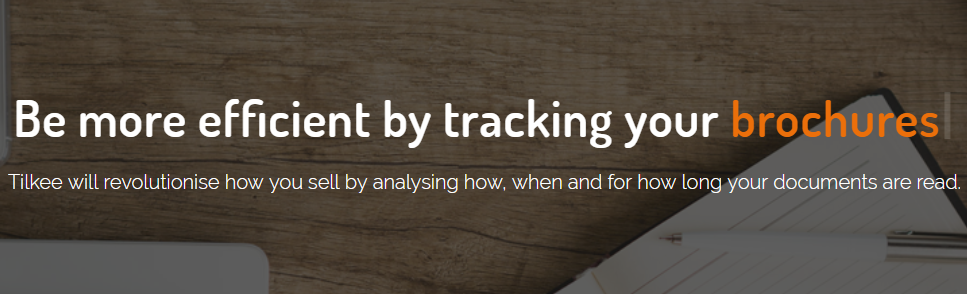 Tilkee : A document tracking software
