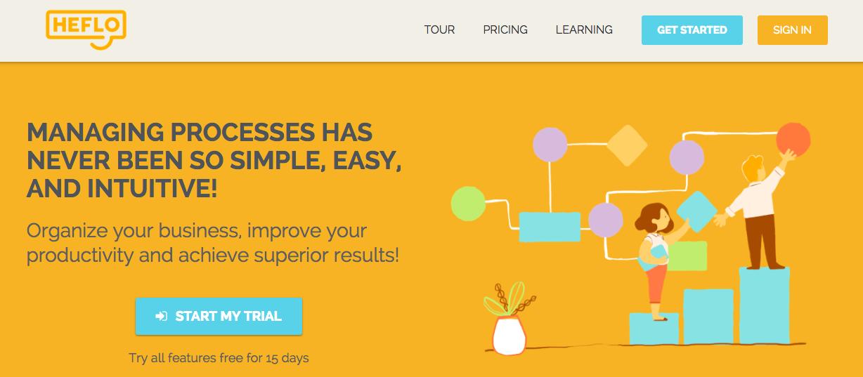 Heflo: A process documentation tool