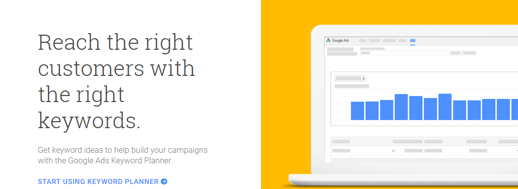 google keyword planner for better keyword research