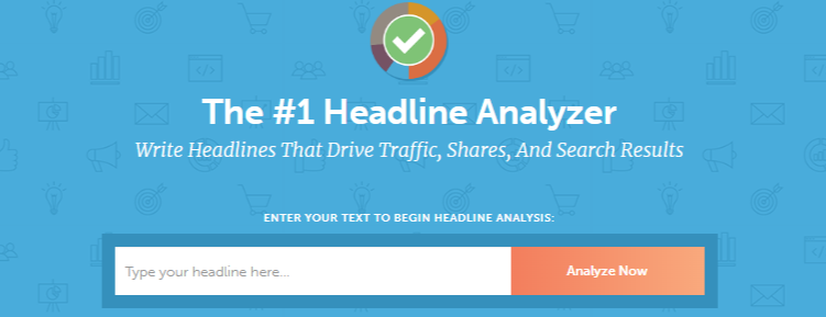 Coschedule headline analyzer for bloggers and writers
