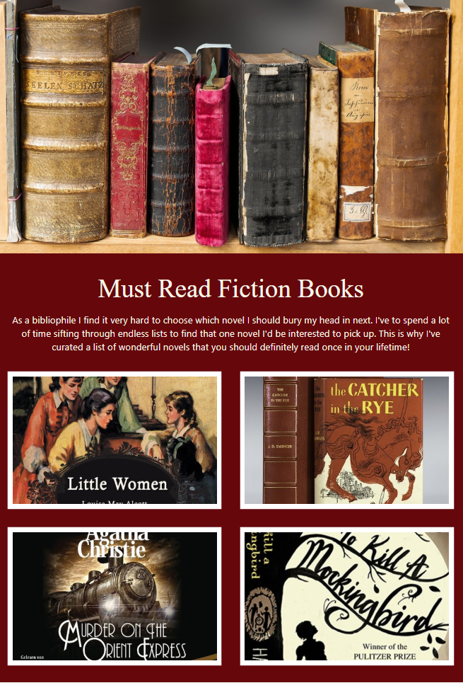 Recommending books by company newsletter