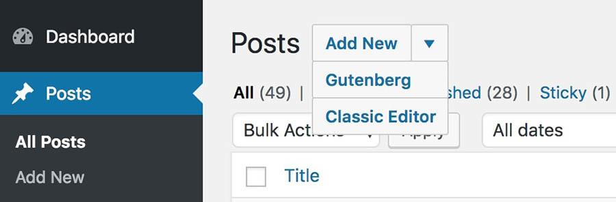Gutenberg: WordPress's new editor