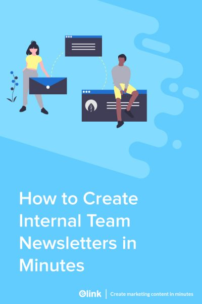 How To Create An Internal Newsletter For Your Teams - pinterest image