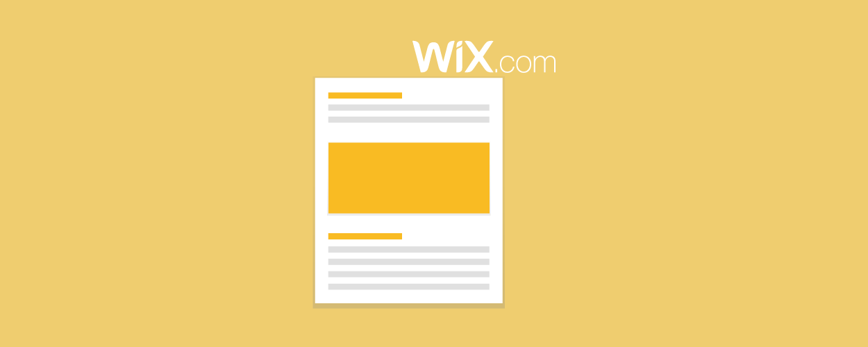 How To Quickly Add Press Pages for Wix Website- elink Blog