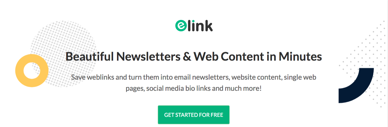 Elink for content curation