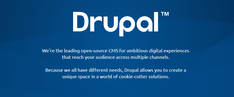 Drupal : Open source CMS