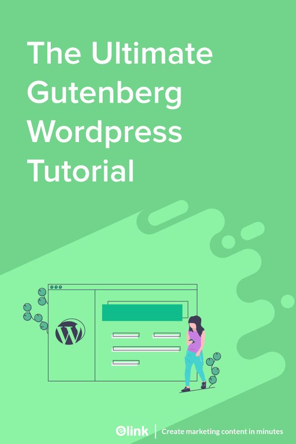 The-ultimate-gutenberg-Wordpress-Tutorial-pinterest