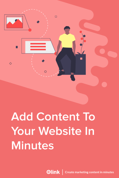 How-To-Add-Content-To-Your-Website-in-Minutes-Pinterest image
