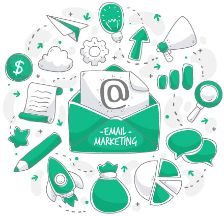 Things involved in email marketing