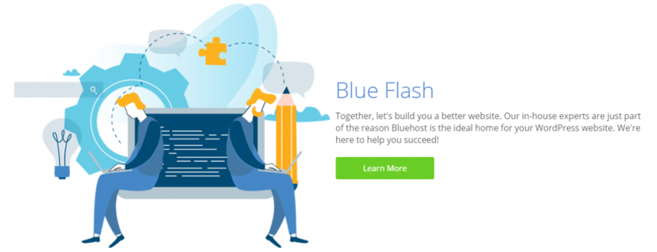 Bluehost : A webhosting service provider