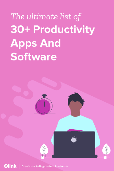 The-ultimate-list-of-30-Productivity-Apps-And-Software-Pinterest