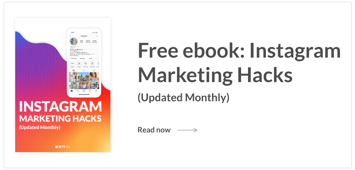 Instagram Marketing hacks ebook