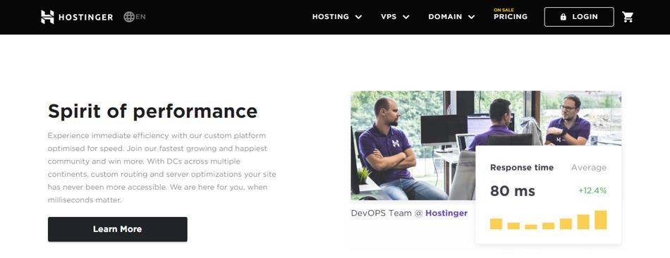 Hostinger - A webhosting service provider