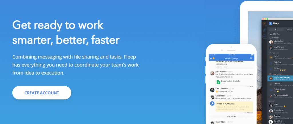 Fleep communication tool