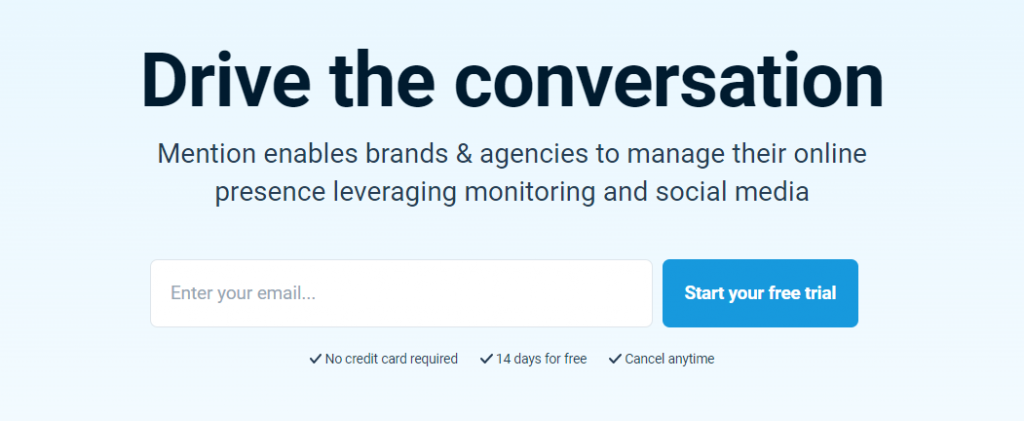Mention : A social media analytics tool