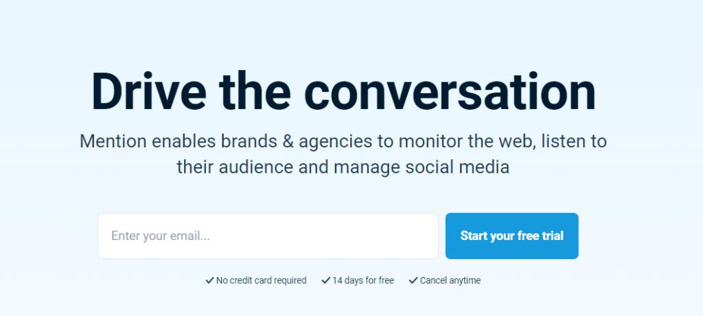Mention: A social media tool