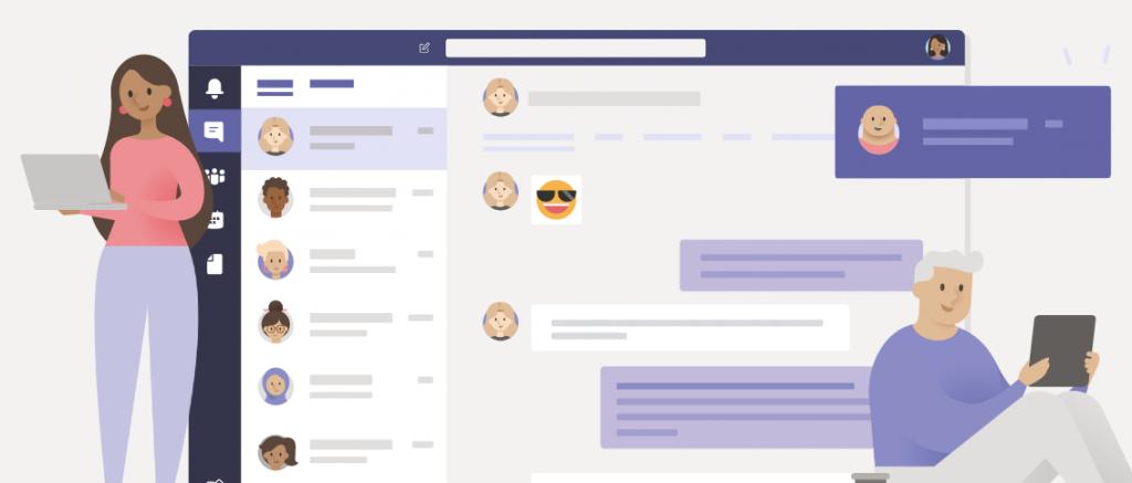 Microsoft teams communication tool