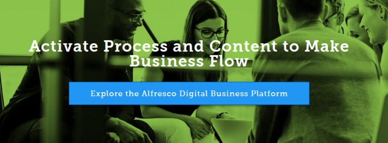 Alfresco digital business platform