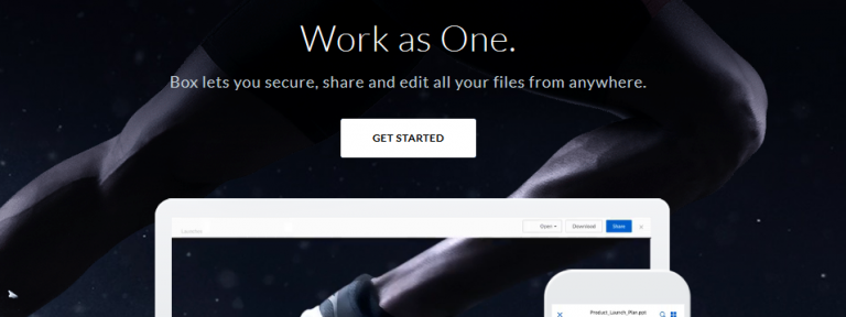 Secure, share and edit all your files through box
