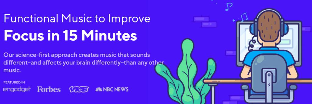 Brain.fm for better productivity