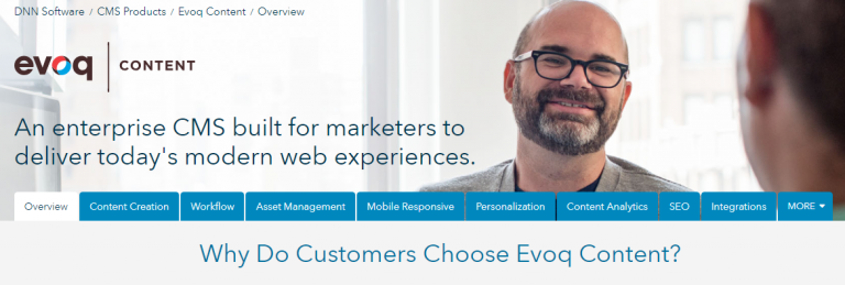 Evoq : CMS for marketers