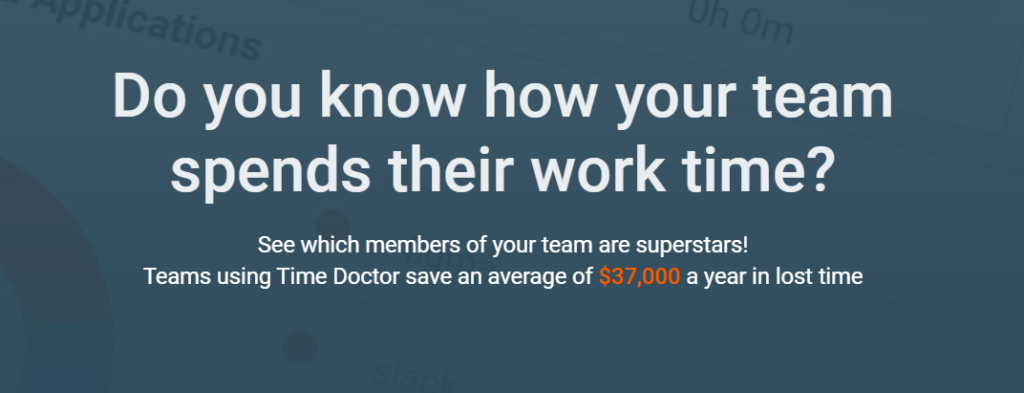 Time doctor: Time tracking tool
