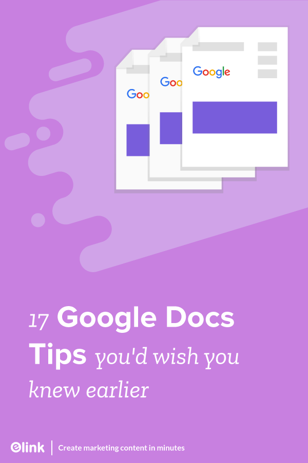 17-Google-Docs-Tips-you'd-wish-you-knew-earlier-Pinterest