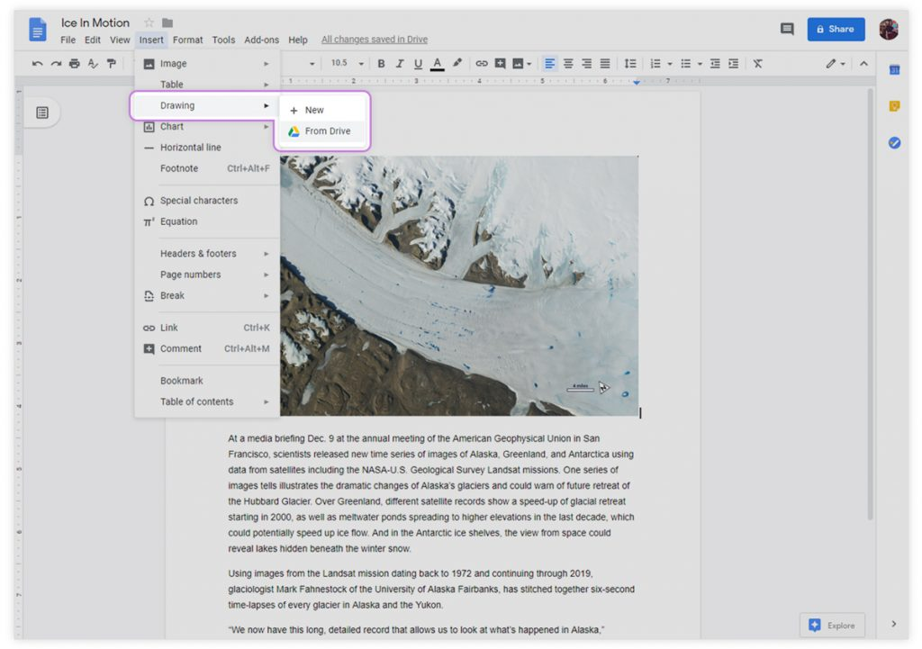 Tip on google docs for adding e-signatures to your documents