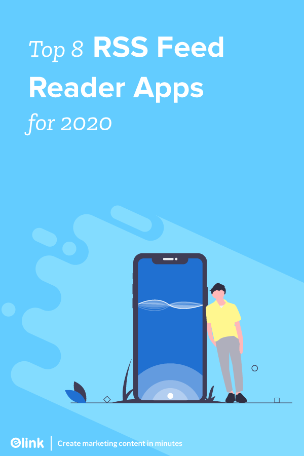 Top Rss Feed Reader Apps In 2020 : Pinterest Banner