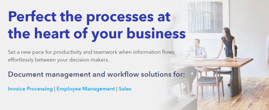 Docuware : Cloud document management system