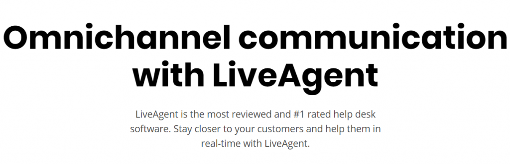 Live Agent : Live Chat Software
