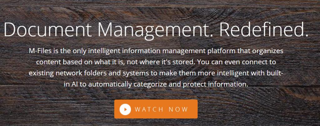 M-files : Cloud document management system