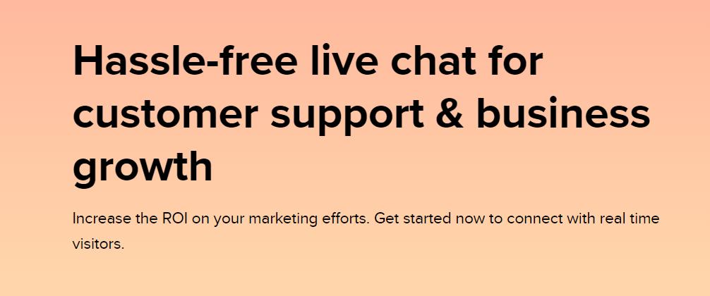 Zoho Salesiq : Live Chat Software
