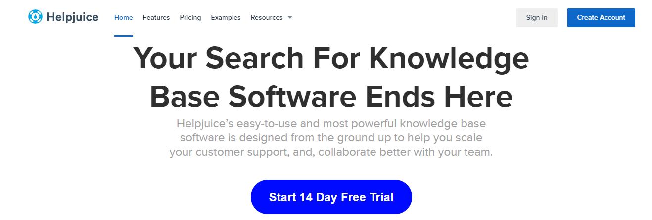 Helpjuice: Knowledge management tool