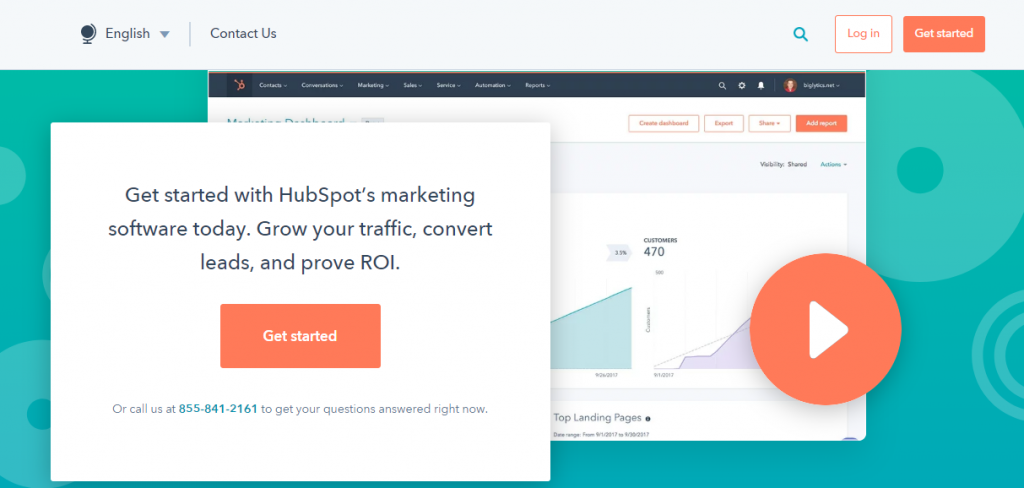 Hubspot Marketing: Lead generation software